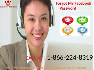 Dial Facebook Password Recovery 1-866-224-8319 for instant help