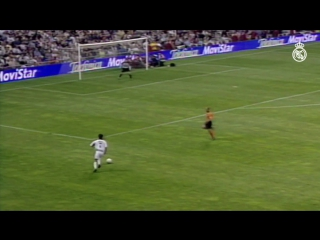 This Guti goal helped us win the title with victory over Alavés in 2001!
