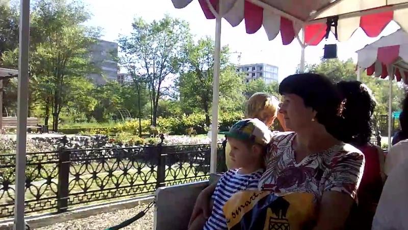 экскурсия по парку на паравозике