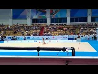 Дина Аверина - мяч (многоборье) // World Challenge Cup 2017, Казань