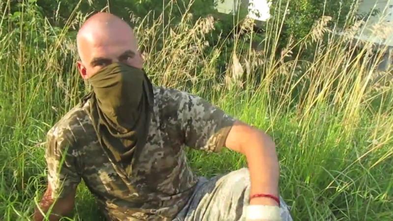 Доброволець АТО з Латвії на Донбасі