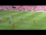 Steven Gerrards 30 yard volley - Liverpool V West Ham
