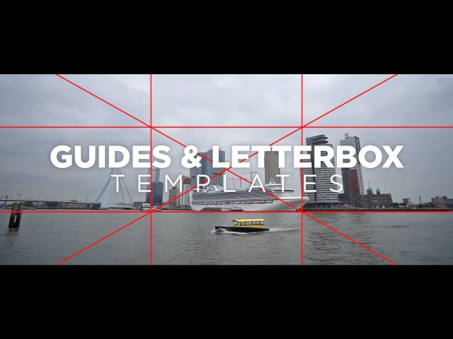 Guides Letterbox Templates Tutorial 🎬 for Premiere Pro by Chung Dha