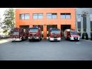 Strażacy oddają hołd zmarłym strażakom z Białegostoku