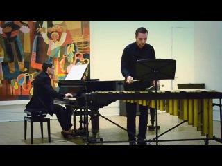 Глеб Логвинов (вибрафон), Елена Сычкова (фортепиано)