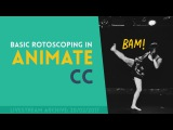 Basic Rotoscoping with Animate CC Part 2  Livestream Archive 20022017