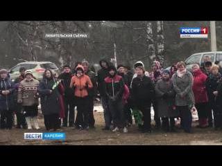 Сельские жители на свои деньги установили монумент к Дню Победы