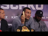 WLADIMIR KLITSCHKO REVEALS 'PREDICTION ON USB STICK' THAT HE WILL AUCTION WITH HIS ROBE (v JOSHUA)