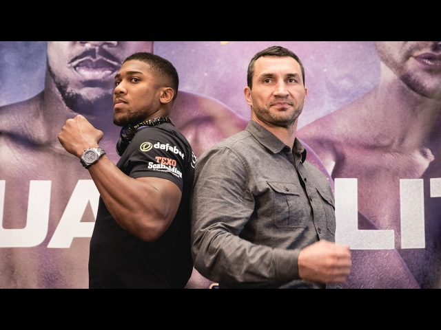 Joshua vs Klitschko Heavyweight World Championship Apr 29 LIVE on SHOWTIME 4 15p ET 1 15p PT