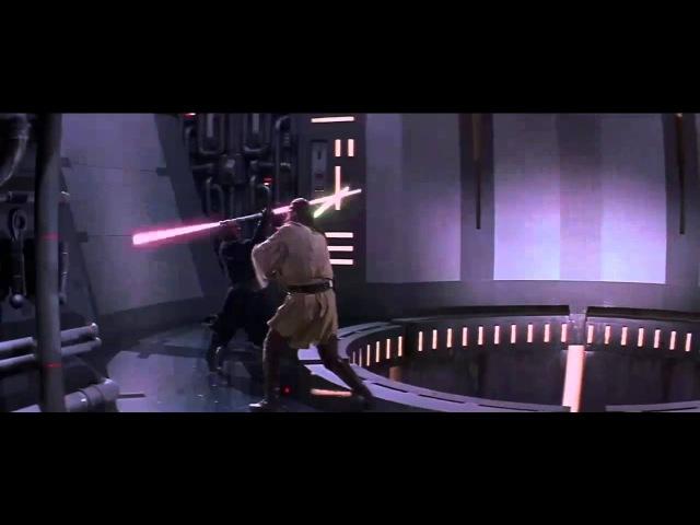 Битвы Star Wars: Оби-Ван Квай-Гон Джинн vs Дарт Мол
