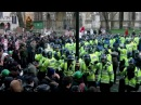 Police Horse Charge Turns Protest Ugly