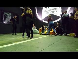 Dancehall Battle/JuliYago(win) vs Liza Zero/Judge Kimiko Versatile