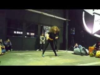 Dancehall Battle/JuliYago(win) vs Masha Mamonova/Judge Kimiko Versatile