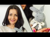 No-sew Sock Bunny - Easter Craft Ideas #2