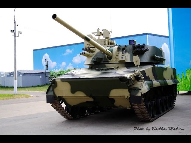 New Russian 2S25 Sprut-SD self-propelled tank destroyer - 2С25 Спрут-СД