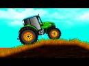 Тракторы ГОНКИ все серии подряд. Смотреть мультики про тракторы для детей