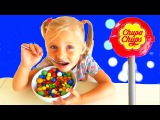 Bad Kid Baby Learn colors Candy Giant Chupa Chups M&ampM's Johny Johny Yes Papa Nursery Rhyme Songs