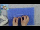 Как нарисовать шерстью чайный натюрморт. Мастер-класс Яны Богдановой