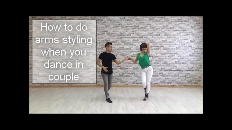 How to do arms styling dancing in couple by Anna LEV