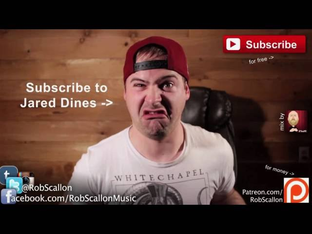 Гитарный слэп баттл JARED DINES ROB SCALLON RUS