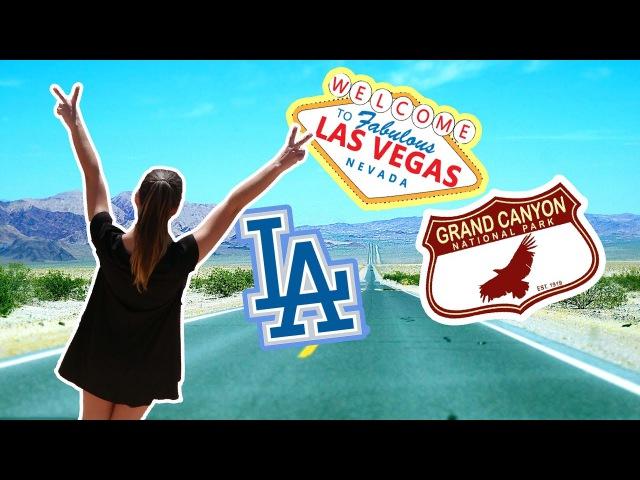 ВЛОГ: Путешествие в Лас Вегас, Гранд Каньон, Долину Смерти и Плотина Гувера