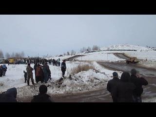 Рязань Автокросс 19 02 17 ЗИЛ 130 Т4 3 финал А