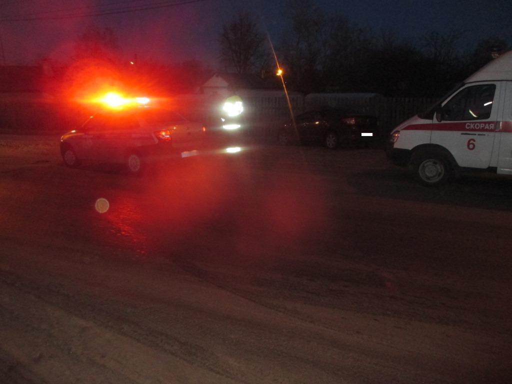 В результате ДТП пострадали пассажиры
