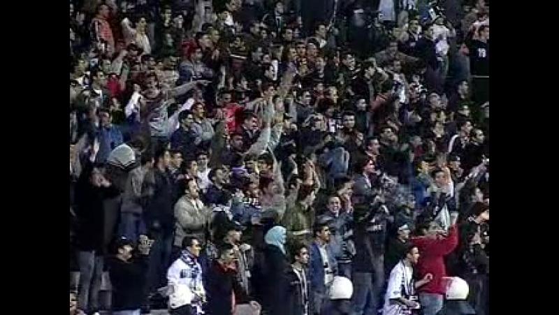 2004 - 2005 Sezonu - Beşiktaş-MKE Ankaragücü dakika 14 gol John Carew