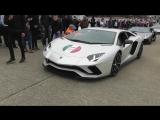 2x AVENTADOR S! Auto Italia 2017 (7x Av SV, Murcielago SV, Miura x3, Silhouette