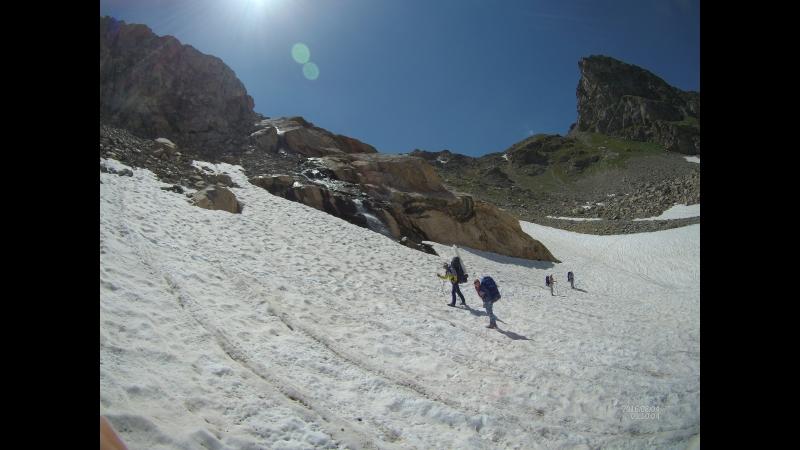 Подъём на перевал Кара Джаш 28 07 2017