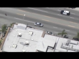 Los Angeles Police Car Chase_ 16 Cars 50 Cops .vs 15 Years Old Girl