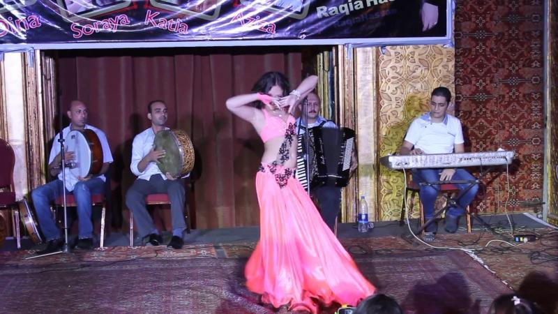 Анна Чепец, Anna Chepets, AHLAN WA SAHLAN-2014, Baladi Drum solo