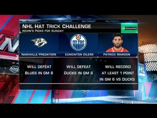 Hat Trick Challenge for Sunday May 7, 2017