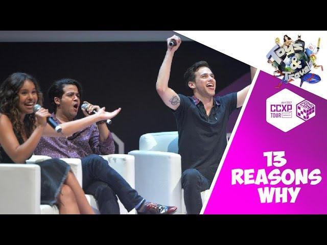 13 Reasons Why na CCXP Tour Nordeste - Coletiva de imprensa NETFLIX c/ Justin, Jessica e Tony