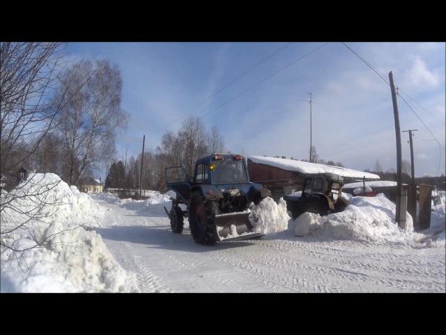 Последний снег (Тестирование SONY HDR-AS50)