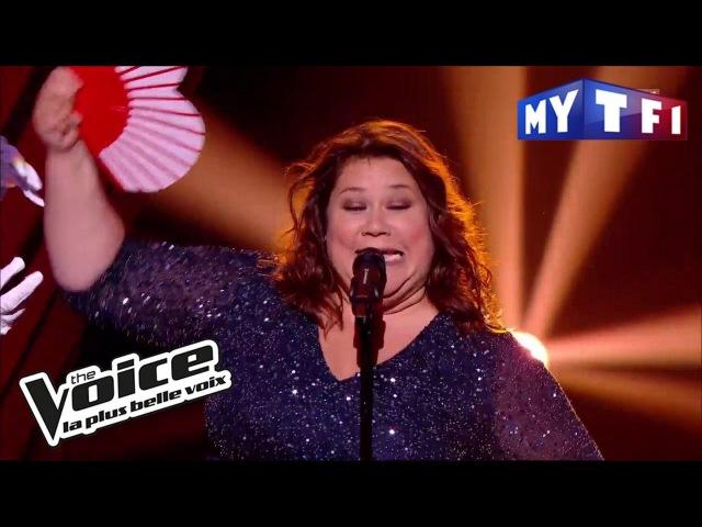 Audrey - « Grace Kelly » (Mika) | The Voice France 2017 | Live