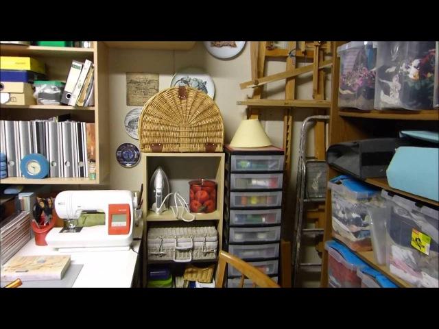 Моя вторая мастерская и швейные новинки. Sewing room. Nähzimmer.