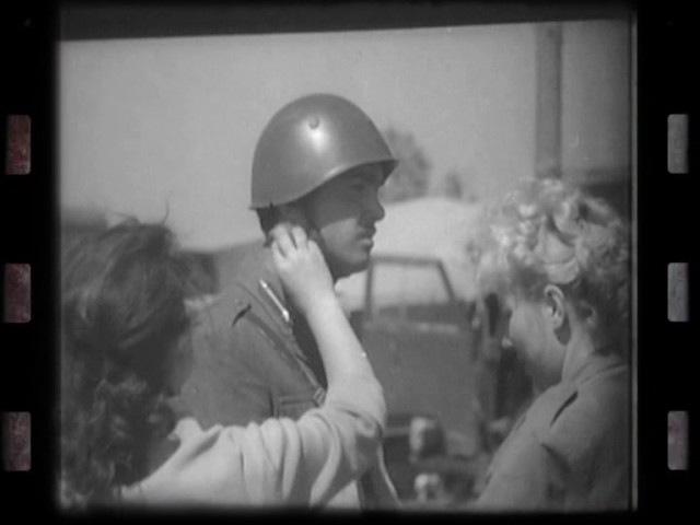 Історія, збережена в кінокадрах: Зйомки х/ф Вони йшли на схід