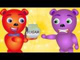 Mega Gummy bear Johny johny yes papa finger family Nursery Rhyme for Kids Gummy bear Ice cream