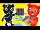 Mega Gummy bear crying got electric shock finger family nursery rhymes Gummybear Toys fun