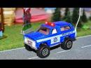 Мультики про Полицейскую Погоню Видео для детей Машины Помощники Сборник