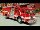 Мультфильмы для детей Пожарная машина и Полицейская машина в Городе Мультик п ...