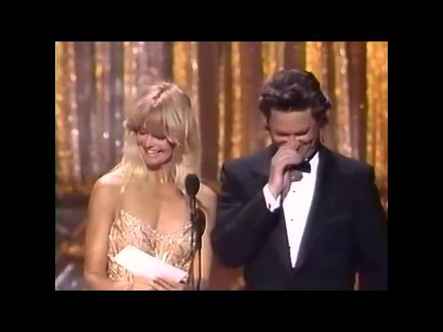 Kurt Russell and Goldie Hawn 1989