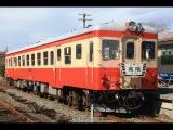 Вид из последнего вагона японского поезда