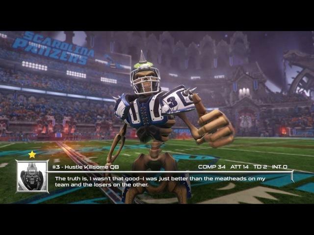 Mutant Football League - Gameplay 3 Mutilators at Panzers