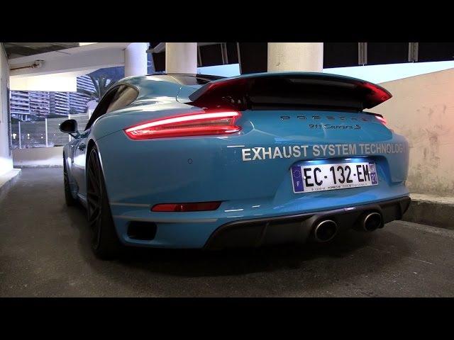 2017 Porsche 991 Carrera S MK2 3.0L Turbo w/ Akrapovic Exhaust - Sounds, Revs Accelerations!