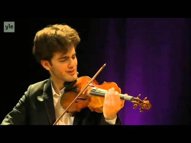 Emmanuel Tjeknavorian | Waxman | Carmen Fantasy | 2015 Sibelius International Violin Comp