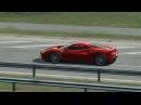 Assetto Corsa - Mišeluk Drag Race - Ferrari 488 GTB VS Porche 911 GT3 RS