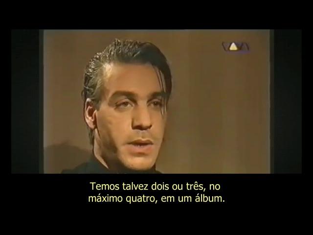 Rammstein: letras polêmicas e relação com a imprensa - Legendado Português BR