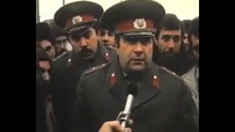 Станислав Говорухин о резне армян в Баку Кадры из фильма Так жить нельзя 1990